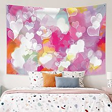 RTEAQ Tapestry Dream Heart Tapestry Wall Hanging