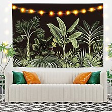 RTEAQ Tapestry Flower Plant Tapestry Wall Hangings