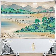 RTEAQ Tapestry Landscape Painting Tapestry, Animal