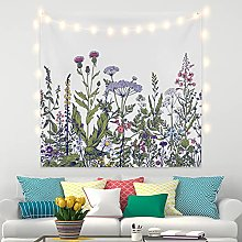 RTEAQ Tapestry Lavender Tapestry Wall Hanging