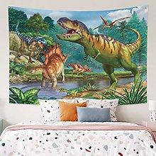 RTEAQ Tapestry Lifelike Dinosaur Printing Tapestry