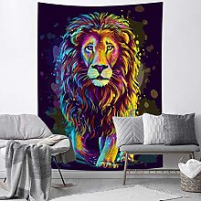 RTEAQ Tapestry Lion Tapestry Wall Hanging