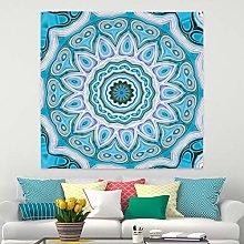 RTEAQ Tapestry Mandala Tapestry Hippie Wall