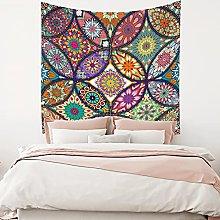 RTEAQ Tapestry Mandala Tapestry Wall Hanging Boho