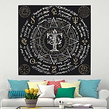 RTEAQ Tapestry Mandala Tapestry Wall Hanging
