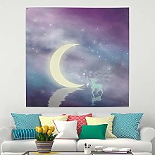 RTEAQ Tapestry Pattern Decoration Wall Hanging
