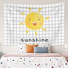 RTEAQ Tapestry Pattern Wall Hanging Cute Tapestry