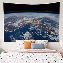RTEAQ Tapestry Psychedelic Earth Tapestry Wall