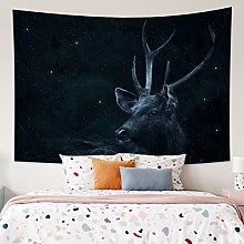 RTEAQ Tapestry Psychedelic Elk Tapestry Wall