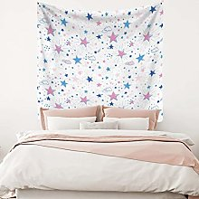 RTEAQ Tapestry Star Sky Tapestry Wall Hanging