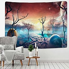 RTEAQ Tapestry Starry Sky Astronaut Tapestry