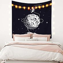 RTEAQ Tapestry Tapestry Wall Hanging Celestial