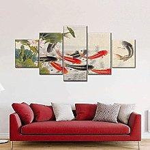 RTFGF Canvas Wall Art Print For Home Decor Lucky