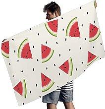 Rtisandu Beach Towels Rectangular Watermelon