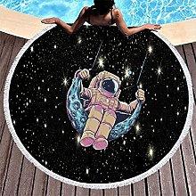 Rtisandu Beach Towels Round Astronaut Space Cheap