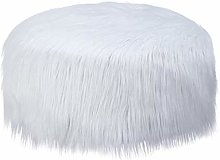RTMX&kk Versatile Inflatable Sofa, Faux Fox Fur