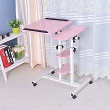 RTYU Laptop Table Bed Adjustable Bedside Laptop