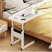 RTYU Mobile Desk Adjustable Laptop Stand Overbed