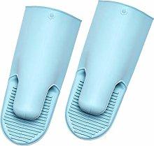 Ruankenshop Non-Slip Silicone Oven Gloves