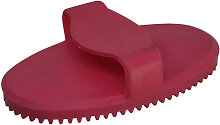 Rubber Curry Comb (S) (Pink) - Lincoln