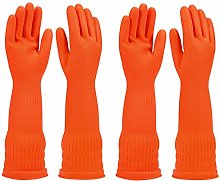 Rubber Dishwashing Glove Kitchen Cleaning Gloves