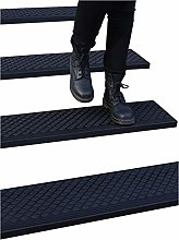 """Rubber Stair Treads Non-Slip Outdoor 42""""x10"""""""