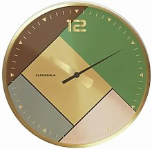 Rubik 20cm Wall Clock Cloudnola Colour: Gold