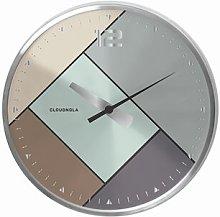 Rubik 20cm Wall Clock Cloudnola Colour: Silver