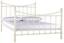 Ruby Metal Bed Frame With Mattress Options (Buy