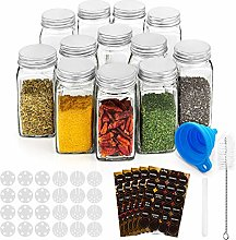 RUBY Spice Jar Storage Containers Spice Jars With