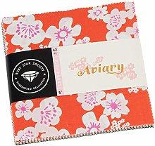 Ruby Star Aviary Charm Pack