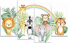 Rubybloom Designs Jungle Animals - Lion Tiger
