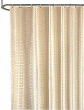 Rubyia Long Shower Curtains, Grid 3D Printed