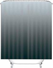 Rubyia Shower Curtain 120cm, Gradient Pattern