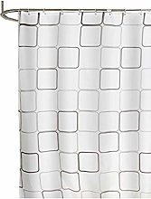 Rubyia Square Shower Curtain, Square 3D Printed