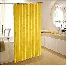 Rubyia Wide Shower Curtain, Star 3D Printed