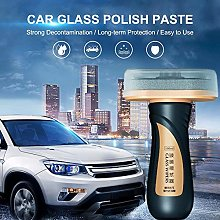 Rubyu Car Glass Polish Paste,Cleaning Paste Wax