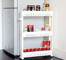Rubyz Kitchen Storage Trolleys, Slim Slide Out