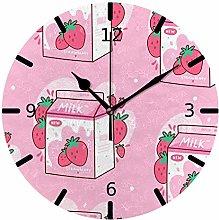 Ruchen Silent Wall Clock Non Ticking Carton Of