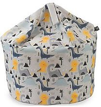 Rucomfy Dinosaur Island Medium Kids Beanbag