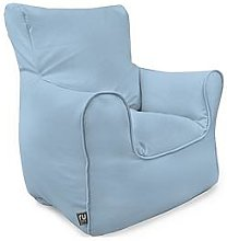 rucomfy Kids Armchair Beanbag - Blue, Light Blue