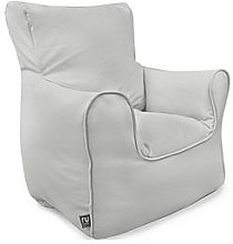rucomfy Kids Armchair Beanbag - Grey, Grey