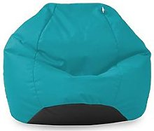 Rucomfy Kids Classic Indoor/Outdoor Beanbag - Blue