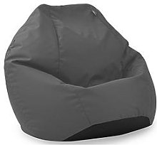 Rucomfy Kids Classic Indoor/Outdoor Beanbag In Grey