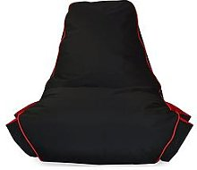 Rucomfy Kids Gamer Beanbag Chair - Red