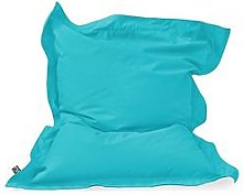 Rucomfy Kids Indoor/Outdoor Squarbie Beanbag - Blue
