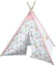 Rucomfy Kids Teepee Play Tent - Rainbow Sky