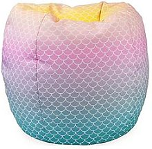 rucomfy Mermaid Ombre Classic Beanbag, Multi