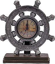Rudder Decorations, American Clock