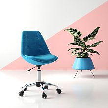 Rudra Desk Chair Hashtag Home Colour (Upholstery):